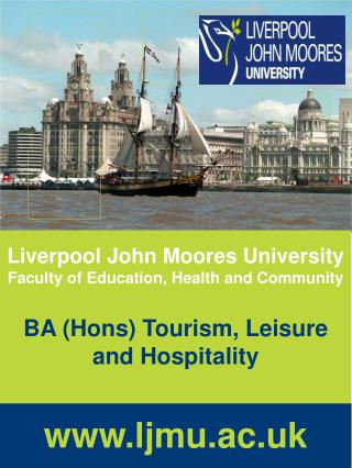 Liverpool John Moores University Faculty of Education, Health and Community