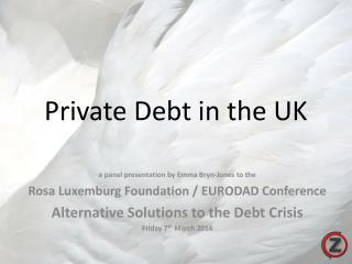 Private Debt in the UK