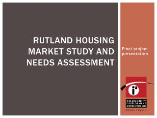 Rutland housing market study and needs assessment