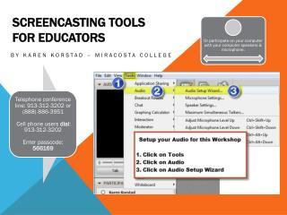 Screencasting  Tools  for Educators