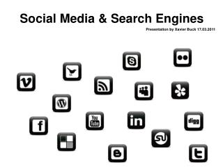 Social Media & Search Engines