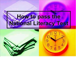 How to pass the National Literacy Test