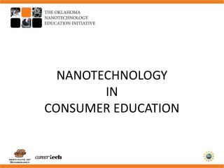 NANOTECHNOLOGY  IN  CONSUMER EDUCATION