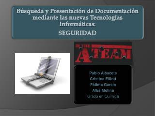 Búsqueda  y Presentación de Documentación mediante las nuevas Tecnologías Informáticas: SEGURIDAD