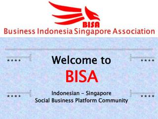 Indonesian -  Singapore  Social Business Platform Community