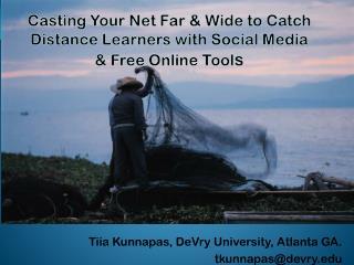 Tiia Kunnapas, DeVry University, Atlanta GA.           tkunnapas@devry.edu
