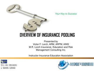 OVERVIEW OF INSURANCE  POOLING