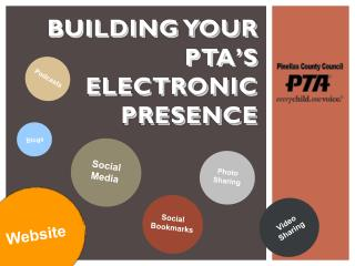 Building Your  PTA's Electronic  Presence