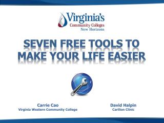 Seven Free Tools to Make Your Life Easier