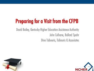 Preparing for a Visit from the CFPB