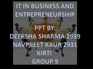 IT in Business and entrepreneurship