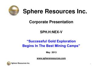 Sphere Resources Inc.