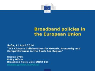 Broadband policies  in  the European Union