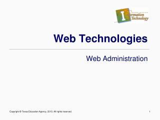 Web Technologies