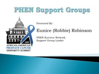 PHEN Support Groups