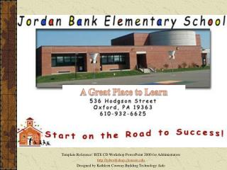 This is a copy of the Clemson Elementary tour for you to use in practice.  Links have been deactivated and movies remov