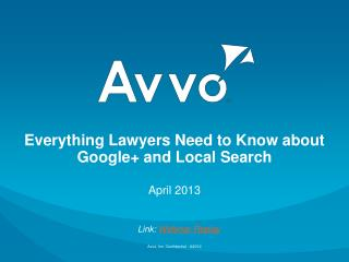 Everything Lawyers Need to Know about Google+ and Local Search