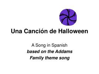 Una Canción de Halloween