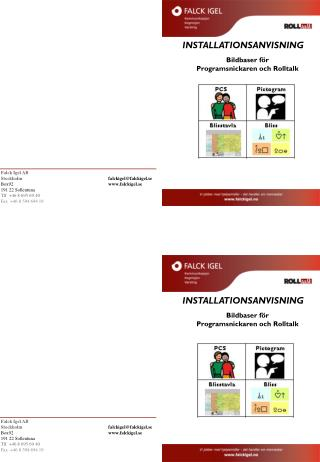Bildbaser för Programsnickaren och Rolltalk