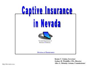 Captive Insurance in Nevada