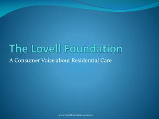 The Lovell Foundation
