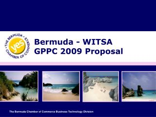 Bermuda - WITSA  GPPC 2009 Proposal