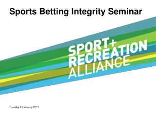 Sports Betting Integrity Seminar