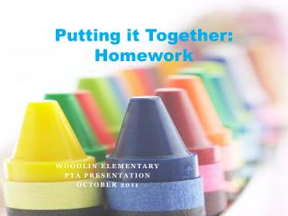 Putting it Together: Homework