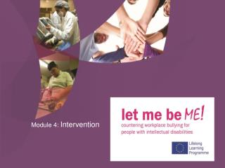 Module 4:  Intervention
