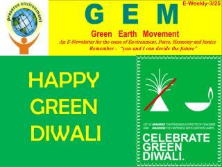 HAPPY       GREEN      DIWALI