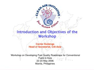 Introduction and Objectives of the Workshop