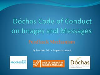 Dóchas Code of  Conduct on Images and Messages