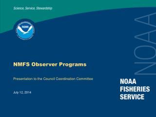 NMFS Observer Programs