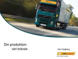 Din produktion- vårt  bränsle               Kent  Högberg