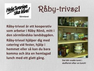 Råby-trivsel