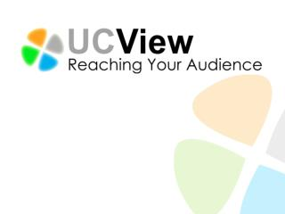 UCView Media System Overview