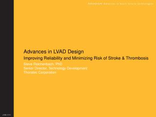 Advances in LVAD Design