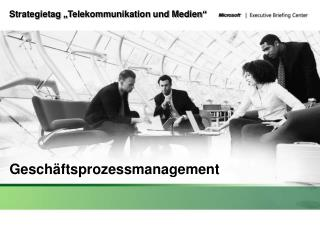 """Strategietag """"Telekommunikation und Medien"""""""