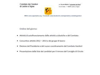 ATTIVITA' 2012-2013  : SERVIZIO  DI  REFEZIONE SCOLASTICA :  COSTO DEL SERVIZIO  DI  REFEZIONE SCOLASTICA