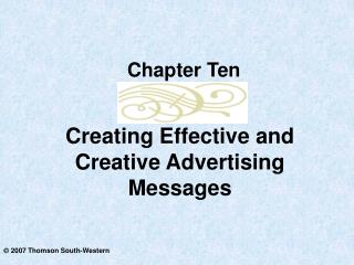 Creating Effective and Creative Advertising Messages