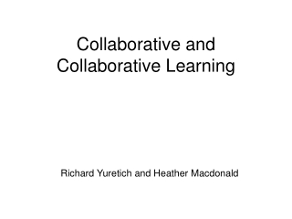 Collaborative Skills  for Teams