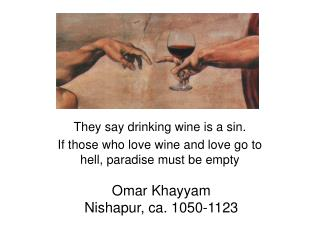 Omar Khayyam Nishapur, ca. 1050-1123