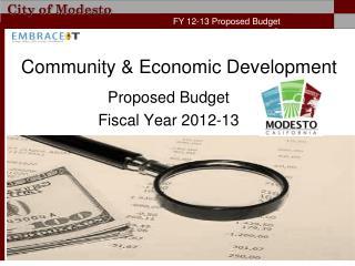 Community & Economic Development