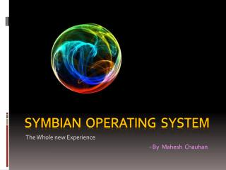 SYMBIAN  OPERATING  SYSTEM