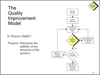 The Quality Improvement Model