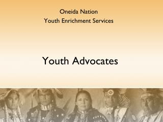 Youth Advocates