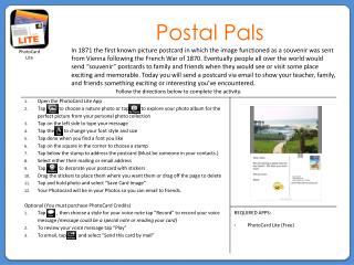 Postal Pals