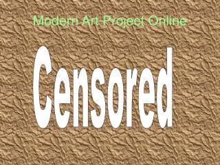 Modern Art Project Online