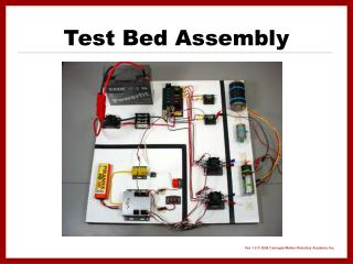 Test Bed Assembly