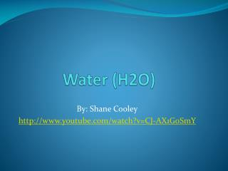 Water (H2O)